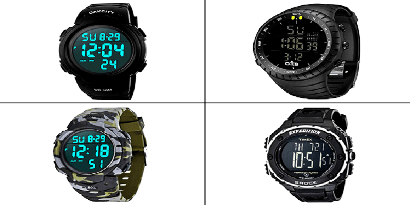 The Best 20 Digital Watches for Men in 2021