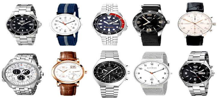 Top 10 Popular Watches Brand in USA