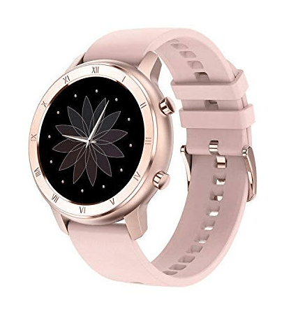 Bfit ACE (38 mm, Pink) Touchscreen Digital Watches for Women with ECG