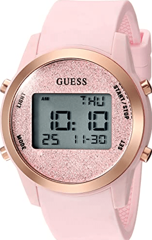 Guess Women's Stainless Steel Digital Watches for Women