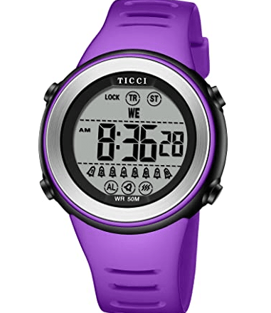 TICCI Women Vibrating Alarms Digital Watches