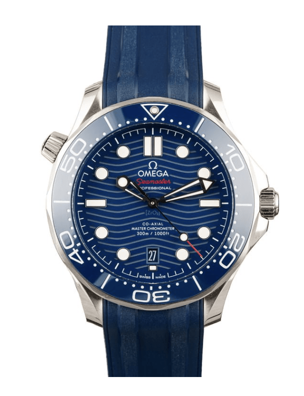 Omega Diver Blue Dial Watch