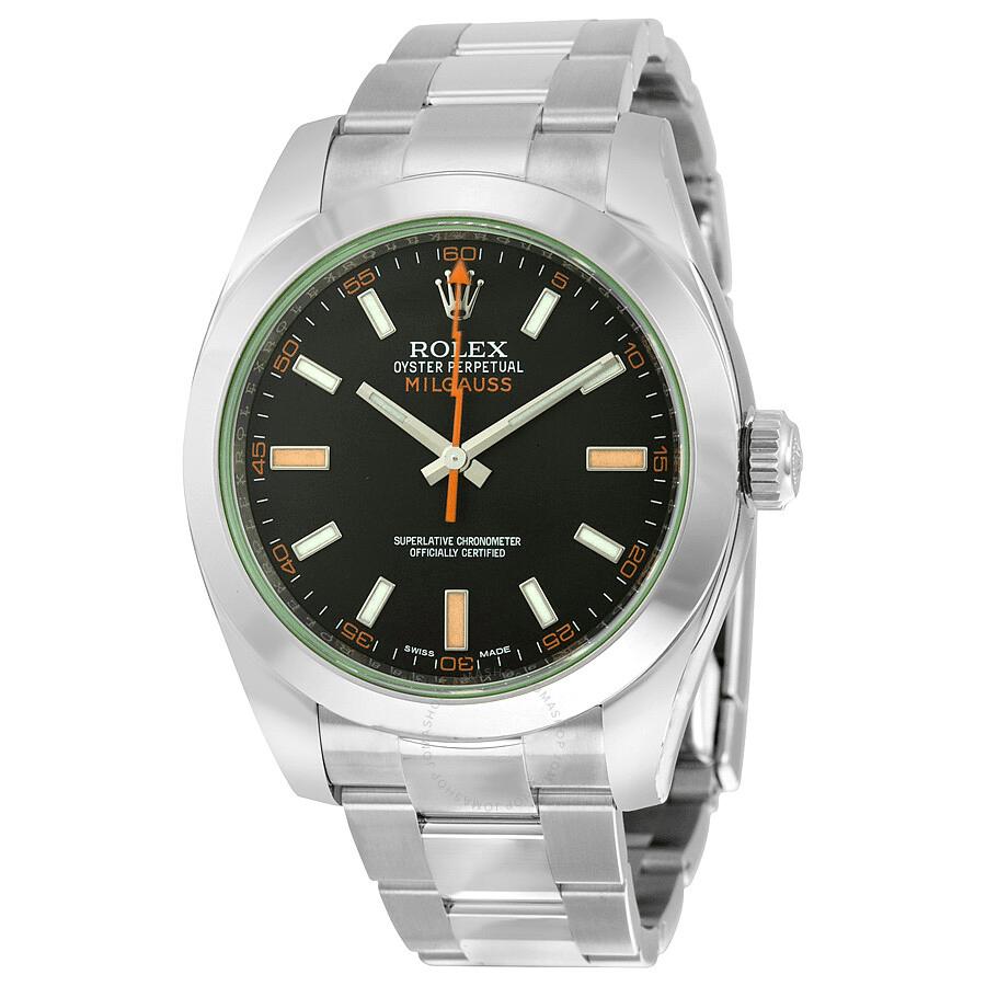 Rolex Milgauss Steel Watch
