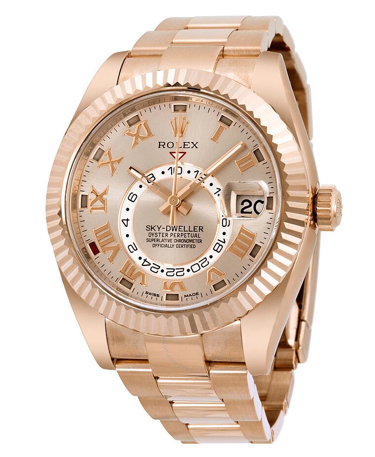 Rolex Sky-Dweller Gold Watch