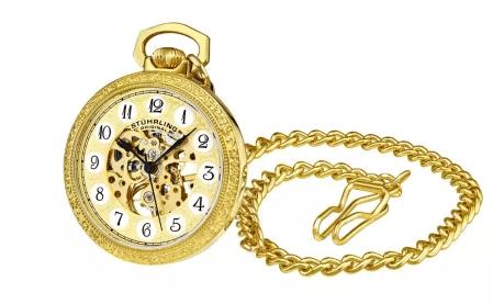 Stührling Complication Pocket Watch