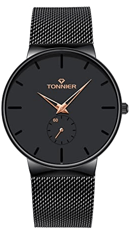 Tonnier Stainless Watch