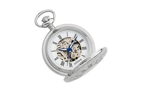 Gotham Silver Pocket Watches