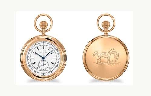 Longines Equestrian Pocket Watche