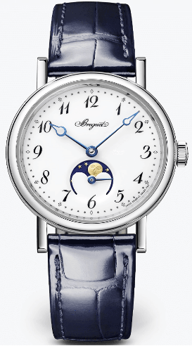 Breguet Classique Dame Moonphase 18ct White Gold Watch