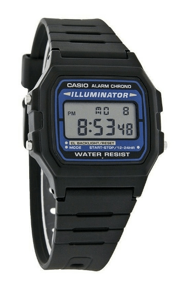 Casio F105W-1A Casio Illuminator Digital Watches for Girl