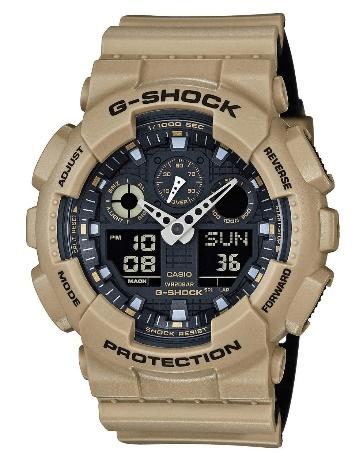 Casio G-Shock GA-100 Military Series Sand