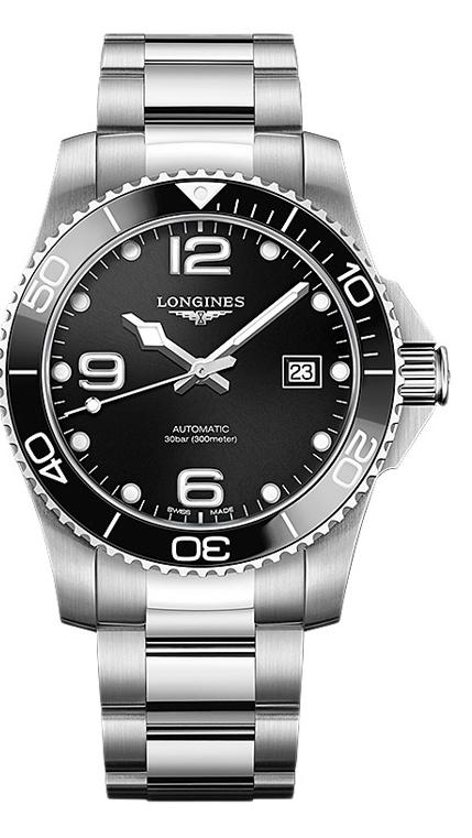 LONGINES HydroConquest White Gold Watch