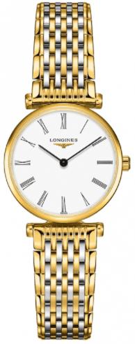 Longines La Grande Classique 24 mm Steel & Yellow White Gold Watch