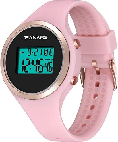 L.HPT Luminous Sports Digital Watches for Girls