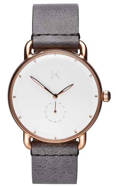 MVMT Revolver Men's Watch, 45 MM | Leather Band, Analog Watch