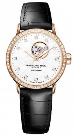 Raymond Weil Freelancer Automatic Rose Gold Diamond Bezel