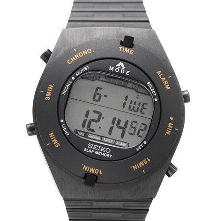 Seiko X Giugiaro Design / Speedmaster Digital Watch