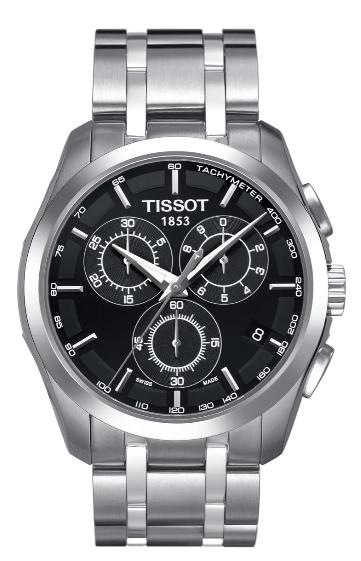TISSOT Couturier Chronograph Bracelet Watch
