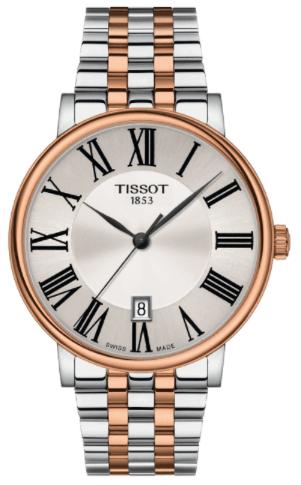 Tissot T-Classic Carson Premium White Gold Watch