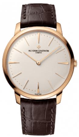 Vacheron Constantin Patrimony 18k Rose White Gold Watch