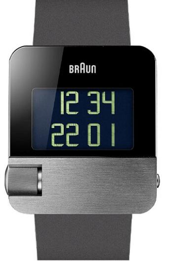 Braun - Men's BN0106SLBKG Prestige Digital Watch