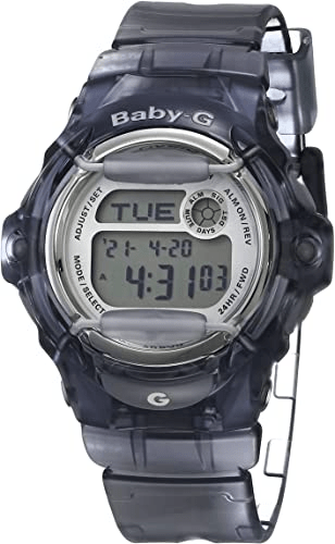 """Casio Women's BG169R-8 """"Baby-G"""" Gray Women's Waterproof Watches"""