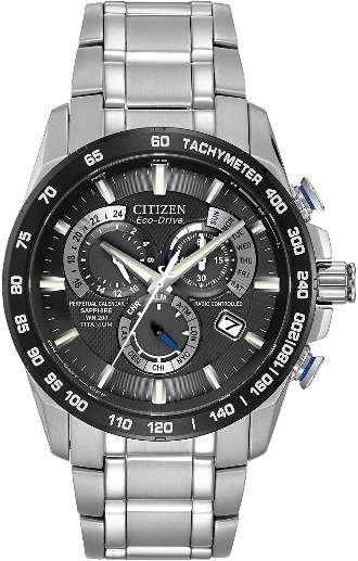 Citizen Eco-Drive Titanium Chrono Atomic Timekeeping Watch