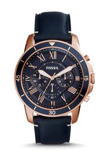Fossil Quartz Stainless Steel and Metal Casual Women's Waterproof Watches