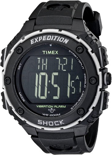 Timex Men's Expedition Vibration Alarm Watch
